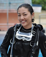 Juju Lee PADI Master Instructor
